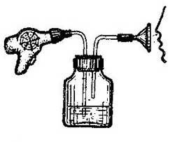Как сделать ингалятор из фена и аптечной бутылочки