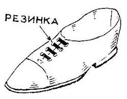 Как избавится от шнурков обуви