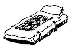 Как защемить детское одеяла