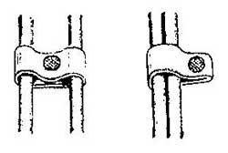 Как сделать крепление для прокладки тонкого провода