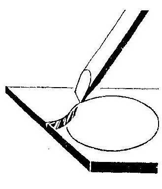 Как разрезать стекло с помощью паяльника