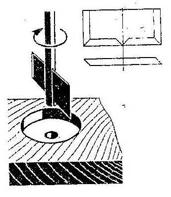 Как сделать приспособление для сверления больших отверстий