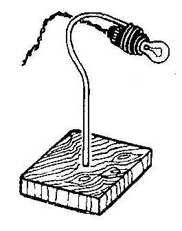 Как сделать переносную лампу