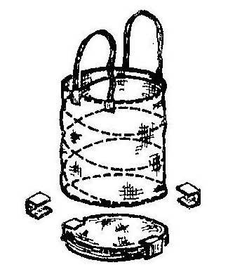 Как сделать сумку для грибов