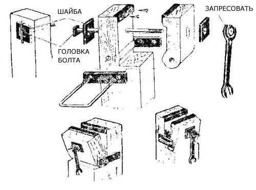 Как сделать легкие деревянные тиски