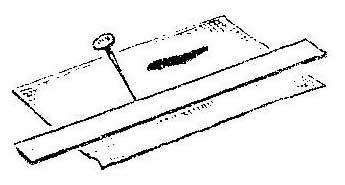 Как отрезать наждачную бумагу