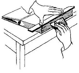 Как отчистить грязную книгу