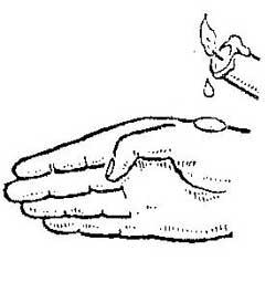 Как удалить мелкие колючек с кожи