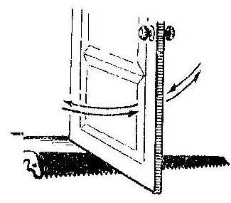 Как устранить цепляние двери за пол