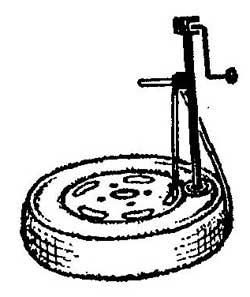 Как отделить борт шины от диска