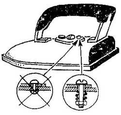 Как заменить защелку на нагревательном утюге