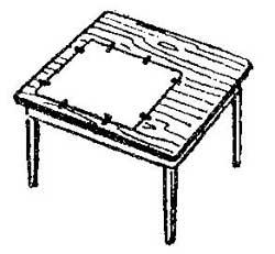 Как закрепить чертежную бумагу на столе