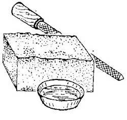 Как обработать пенопласта напильником