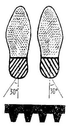 Как сделать накладку от брызг для обуви