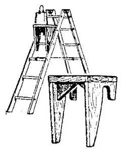 Как сделать полочку на лестницу