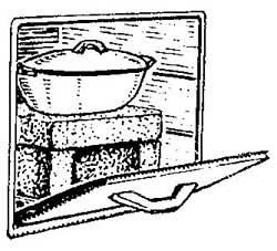 Как приготовить в газовой печи