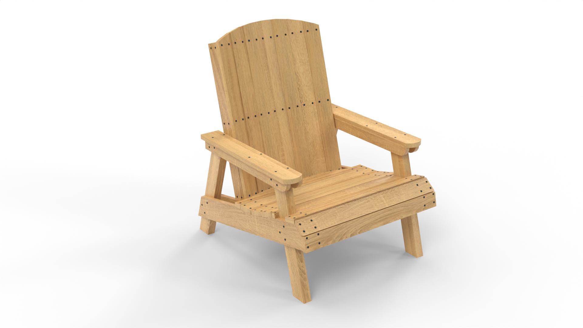 Миниатюра к статье - Кресло своими руками