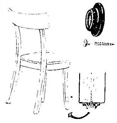 Как избавиться от шума передвигаемой мебели