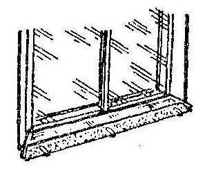Как избавиться от шума дождевых капель на козырьке окна