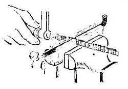 Как распилить тонкую металлическую трубку