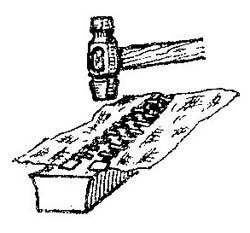 Как отремонтировать металлическую застежку молнии