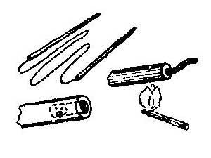 Как отремонтировать вязальные спицы