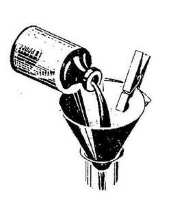 Как сделать воронку из бумаги
