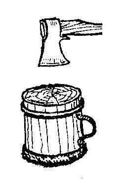 Как сделать колоду для разрубки мяса