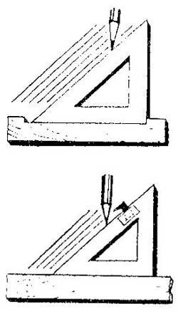 Как штрихововать чертеж