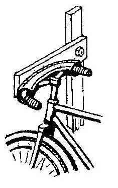 Как сделать держатель для велосипеда