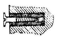 Как сделать дюбель из корпуса шариковой ручки