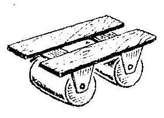 Как сделать стульчик для прополки