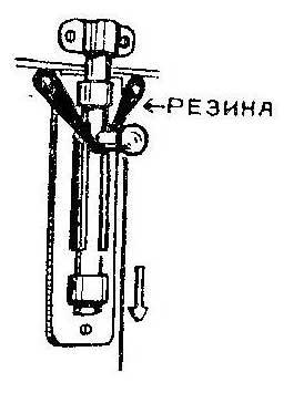 Как сделать шнурок для высоко весящего шпингалета