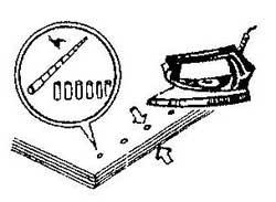 Как сшивать перфорированные листы бумаги