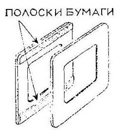 Как склеить картонные рамоки
