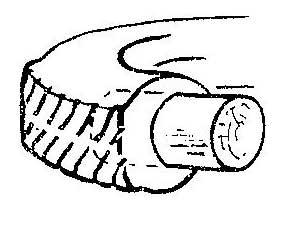 Как отрезать кусок от покрышки