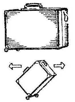 Как сделать транспортабельным тяжелый чемодан