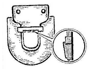 Как устранить случайное расстегивание портфельного замка
