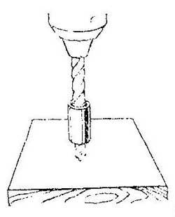 Как просверлить несколько отверстий одной длины
