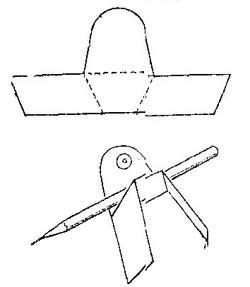 Как сделать хранилище карандешей для чертежника