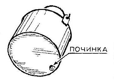 Как устранить дырку в походном котелке, чайнике