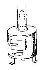 Как предохранить от прогорания колена трубы