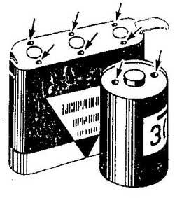 Как восстановить севшую батарейку