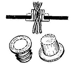 Как заменить фасонные резиновые втулки