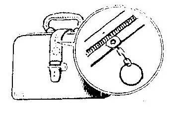 Как заменить оторвавшийся язычек на портфеле