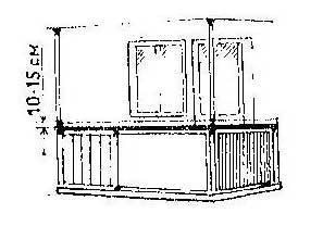 Как защитить поручни балкона и откосы окон от голубей