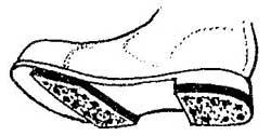 Как сделать накладку от скольжения для обуви