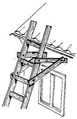 Как сделать опоры для лестницы
