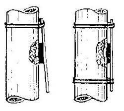 Как остановить течь трубы