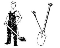 Как сделать двух черенковую лопату